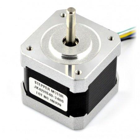 Silnik krokowy JK42HS40-0406 200 kroków/obr 12V / 0,4A / 0,25Nm