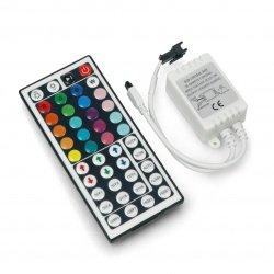 Ovladač RGB LED pásků a pásků s IR dálkovým ovládáním - 44
