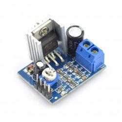 Wzmacniacz audio TDA2030 6-12V 18W - jednokanałowy