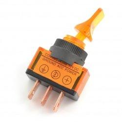 Hlavní vypínač ASW-14D 12V / 20A svítí - oranžový