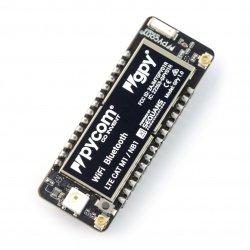 GPy ESP32 - WiFi modul, Bluetooth BLE, LTE + Python API
