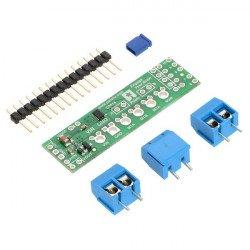 DRV8835 - dvoukanálový budič motoru 11V / 1,2A - štít pro