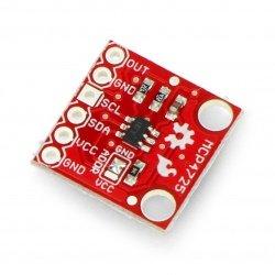 Převodník DCP I2C MCP4725 - modul SparkFun BOB-12918