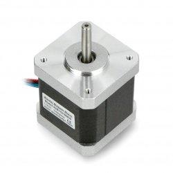 Krokový motor 42BYGHM809 400 kroků / ot. 3V 1,7 A 0,48 Nm -