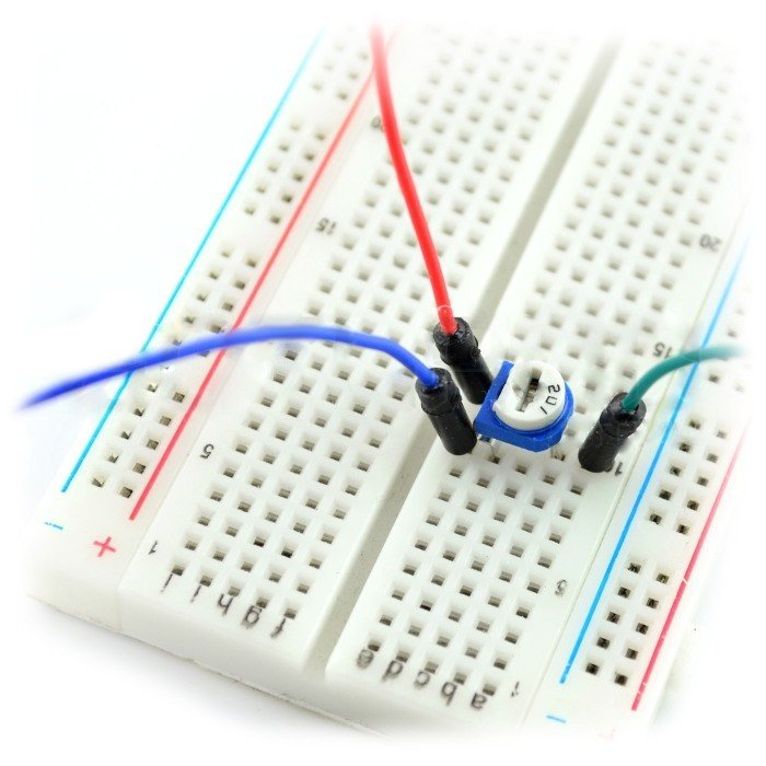 Montážní potenciometr, ležící, 10kΩ - 5ks.
