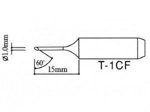 Tip pro pájecí stanice - komolý typ T-1CF