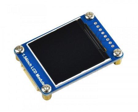 Displej využívá 4kolíkové komunikační rozhraní SPI.