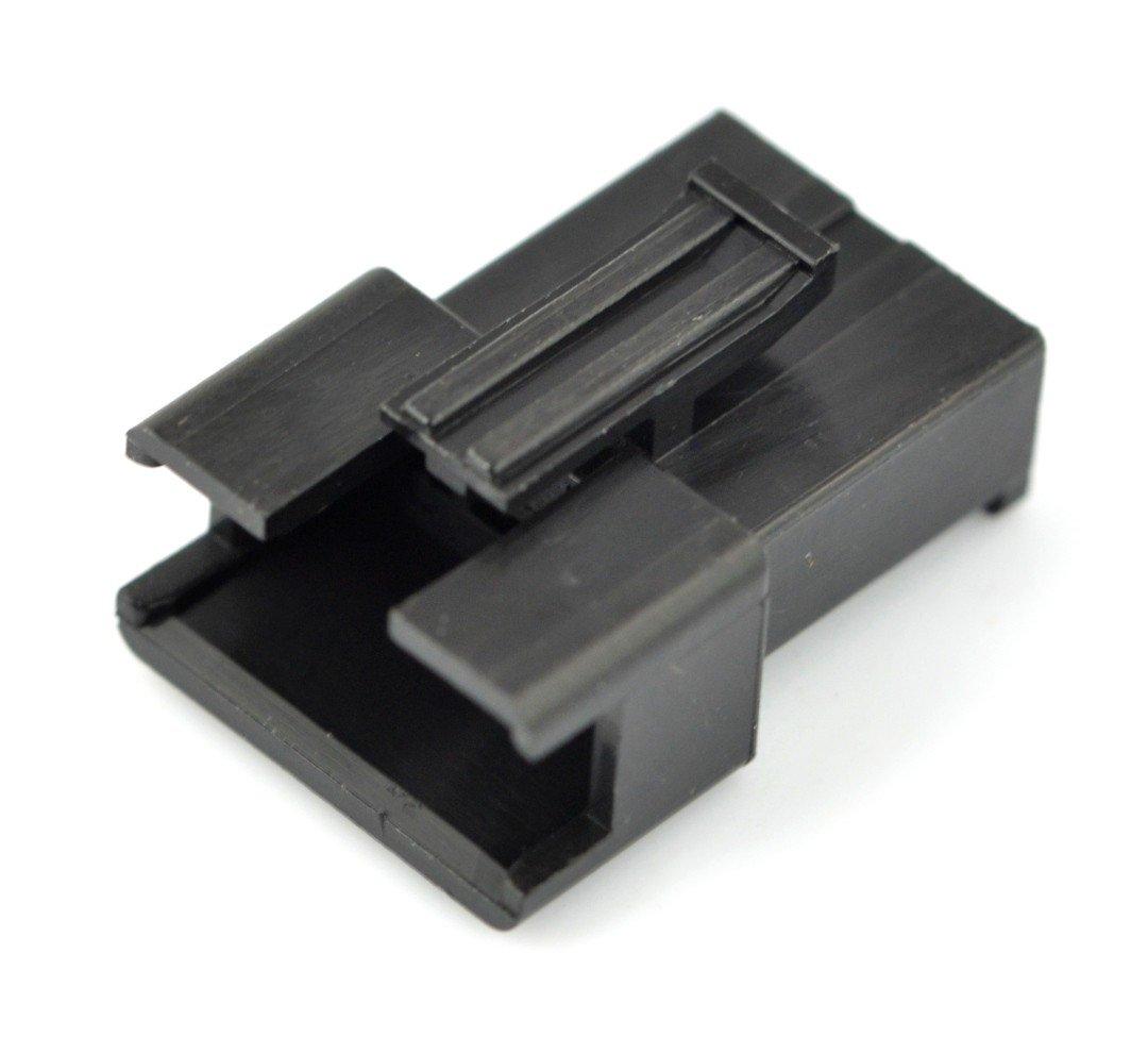 Pouzdro 3pinové zástrčky - rozteč 2,5 mm - 5ks.
